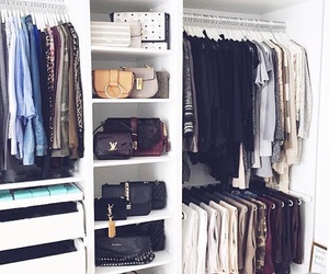 closet, home, and organization image