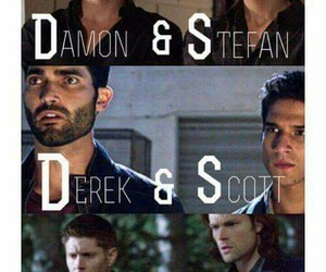 supernatural, Vampire Diaries, and teen wolf image