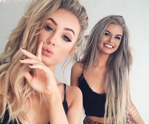 hair, friends, and beauty image