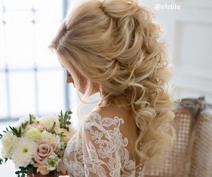 162 Images About Wedding Hairstyle Coiffure De Mariage On We Heart