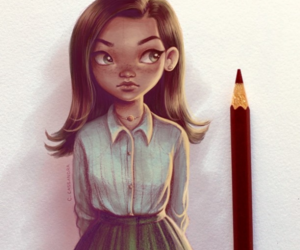 art, comics, and draw image