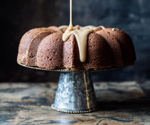 cake, coffee cake, and food image