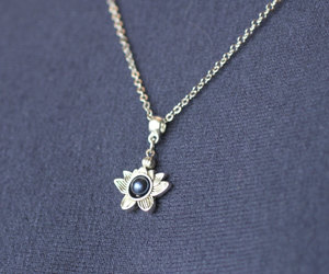 etsy, lotus jewelry, and lotus flower image
