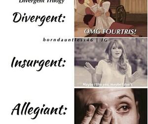 insurgent, divergent, and allegiant image