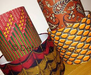 56 images about african print lampshades on we heart it see more home decor christmas gift idea and drum lamp shades image aloadofball Images
