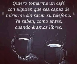 frases, libres, and cafe image