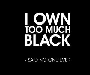 black and quotes image