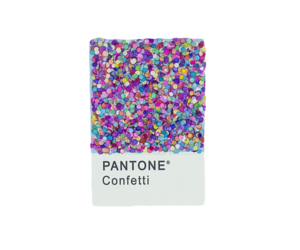 confetti, edit, and pantone image