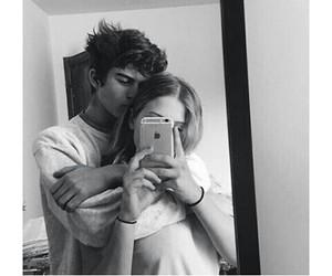 boy, girl, and couple image