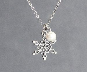 etsy, winter wedding, and christmas jewelry image