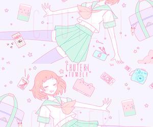 anime, girl, and japan image