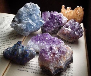 aesthetic, crystals, and amethyst image