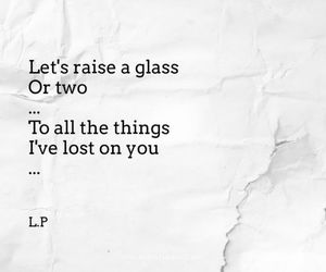 glass, Lyrics, and Raise image