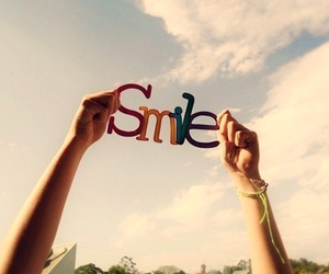 just and smile image