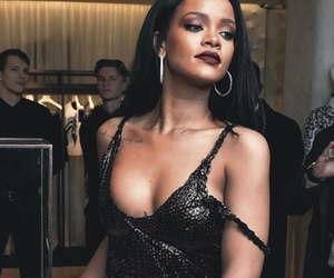 rihanna, riri, and black image