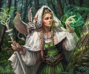 braid, elf, and forest image