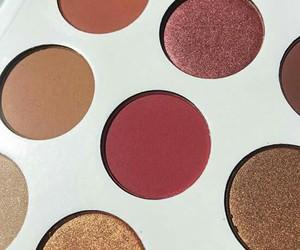 burgundy, kylie, and eyeshadow image