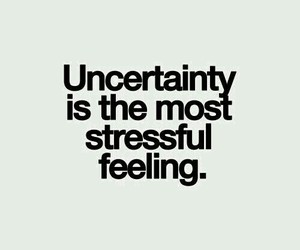 quote, stress, and uncertainty image