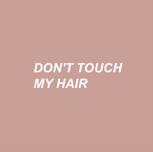 Afro, hair, and touch image