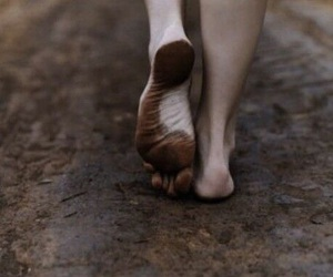 feet, foot, and bare image