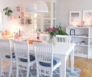 diningroom, dreamhouse, and home image