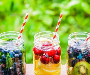 water, fruit, and healthy image