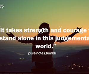 courage, strength, and world image