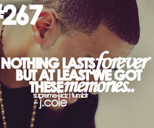 forever, nothing, and j.cole image