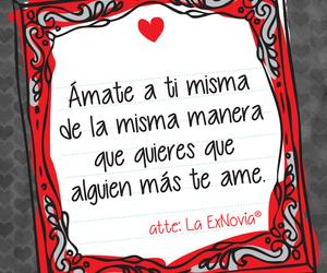 frases en español, amor propio, and amate image