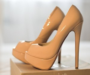 shoes, heels, and high heels image