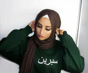hijab, muslim, and outfits image