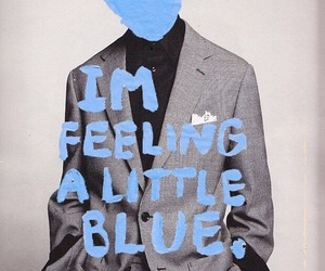 blue, sad, and boy image