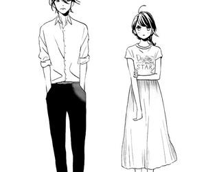 black&white, kawaii, and monochrome image