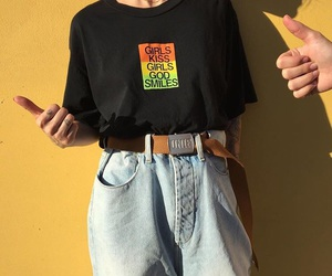 outfit, fashion, and alternative image