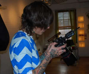 oliver sykes, boy, and tattoo image