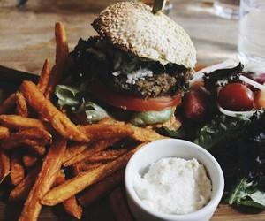 burger, free, and eating image