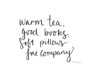quotes, book, and tea image