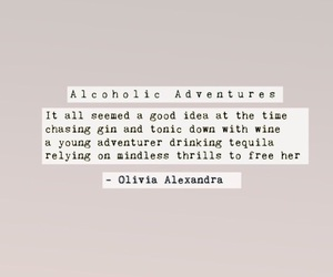 adventure, alcohol, and blogger image