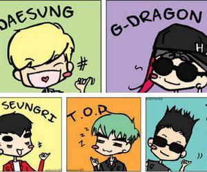 big bang, daesung, and g-dragon image