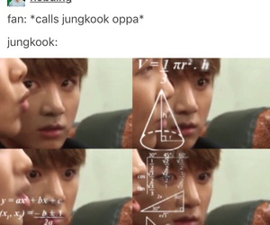 bts, jungkook, and this face is killinme image