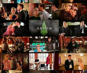 otp, oliver queen, and olicity image