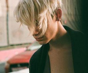 blond boy image