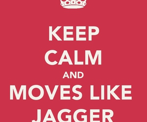 jagger and keep calm image