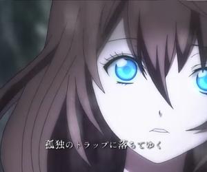 anime, girl, and song image