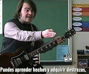 ac dc, funny, and jack black image