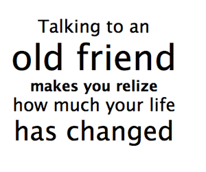 friends, life, and change image