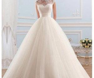 elegant, wedding dress, and wedding image
