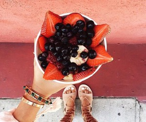 fruit, food, and red image