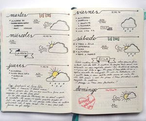 ideas, organizacion, and bullet journal image