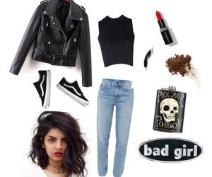 bad girl, fall, and fashion image